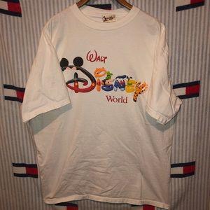 Vintage Disney world short sleeve shirt